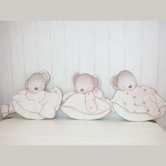 Cuadros bebe - Siluetas madera infantiles ...