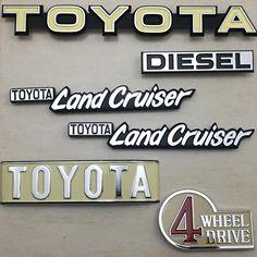 "3 Likes, 1 Comments - Toyota Landcruiser BJ40 (@umartlcbj40) on Instagram: ""The set is finally complete #Emblems #oemparts #Toyota #Landcruiser #BJ40 #1979 #Restoration…"""