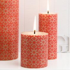 I love these candles