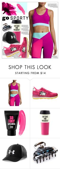 """""""Go Sporty !"""" by dragananovcic ❤ liked on Polyvore featuring Lucas Hugh, Atlantic Stars, Kate Spade, Under Armour and Tasha"""