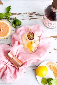 Toast summer's slow fade with a transitional cocktail made from bourbon, passionfruit, pineapple and citrus.