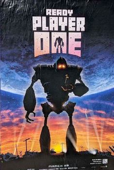 Iron Giant Ready Player One Poster Mash Up. See all 12