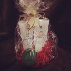 Aloe Vera Gelly and Bee Proplis Creme Gift ideas.