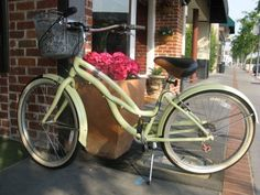 I want a cute bicycle like this