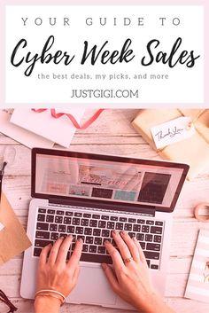 Cyber Week 2017 Shopping Deals & Sales for Women