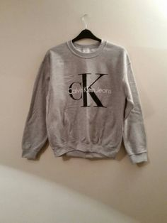 Brand new on trend Calvin klein sweatshirt jumper top unisex mens large womens 8/10/12/14/16