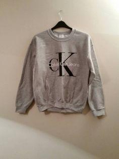 Neue Trend Calvin Klein Sweatshirt Pullover Top von mysticclothing