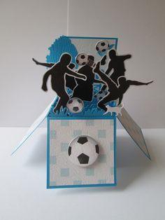 Carte pour un amateur de football ou pour la fête des pères : Cartes par les-petits-papiers-de-marie