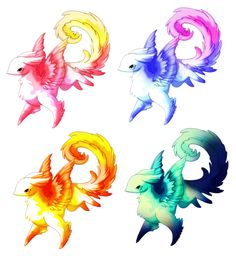 2  is mine adopt the rest.   4 is also adopted named green swirl 3 too and named Phoenix