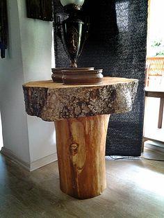 El Yapımı Dekoratif Ahşap Sehpa -  Handmade Decorative Wooden Stand / Süleyman Özü