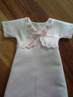 Reworked Angel Gown now with lapels Angel Outfit, Angel Dress, Modest Outfits, Girl Outfits, Funeral Outfit, Preemie Clothes, Angel Gowns, Preemies, Preemie Babies
