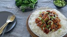 Poulet général Tao allégé | Cuisine futée, parents pressés Healthy Meals For Kids, Quick Meals, Healthy Recipes, Indian Food Recipes, Asian Recipes, Ethnic Recipes, Quebec, Poulet General Tao, Coco