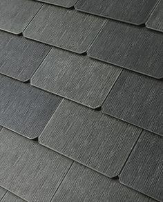 Textured Glass...tesla solar roof tiles!