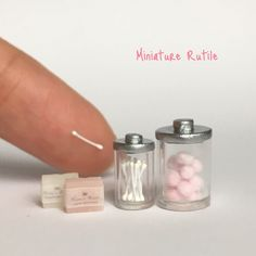 Miniature bathroom ♡♡ by Miniature Rutile