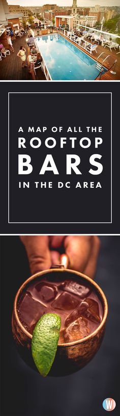 This Map of All the DC-Area Rooftop Bars Will Make You Want to Drink Outside, … – Rooftop Garden Rooftop Pool, Rooftop Garden, Oh The Places You'll Go, Places To Visit, Washington Dc Travel, Vacation Spots, Vacation Destinations, Vacation Ideas, Vacations