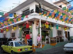 Pipis Restaurant. A must, when you visit PVR. It is so much fun there. The atmosphere and entertainment is great. Go early because everyone wants to have a meal at Pipi's.