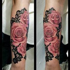 mandala rose tattoo - Google Search