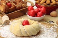 Čuvarkuća: Uskršnje jaje čuva od zla i bolesti - Devet meseci Barbacoa, Greek Easter Bread, Greek Desserts, About Easter, Easter Projects, Confectionery, Dessert Recipes, Sweets, Dairy