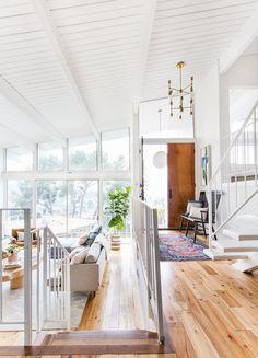 Super Pretty Mid Century Living Room