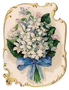 Floral perfume ad Decoupage Vintage, Vintage Diy, Images Vintage, Vintage Labels, Vintage Ephemera, Vintage Cards, Vintage Paper, Vintage Postcards, Perfume Ad