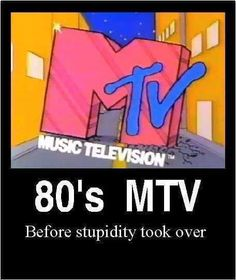 Very true! I miss my MTV! New Wave, My Childhood Memories, Childhood Quotes, School Memories, 80s Kids, 80s Music, I Remember When, Ol Days, Old Tv