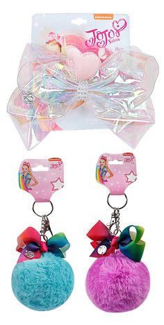 Girls' Accessories Worn Once Be Friendly In Use Jojo Pink Sequin Large Clip On Hair Bow Kids' Clothes, Shoes & Accs.