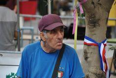 een Fransman tijdens 'le 14 juillet'