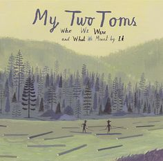 My Two Toms album cover by Bjorn Lie Barbara Cooney, Art Design, Graphic Design, Comic Poster, Christmas Music, Linocut Prints, Graphic Illustration, Illustrations, Print Pictures