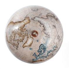 Colours : Choosing a Globe by Colour – Globemakers Desk Globe, World Globes, Latitude Longitude, Livingstone, Maps, Champagne, Hand Painted, Colours, Celestial