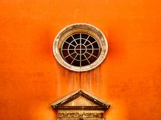 Into the Orange… in Rome, Italy.