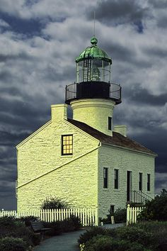 ✯ Cabrillo National Monument Lighthouse - Point Loma, CA