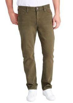 WILLIAM RAST   Dean Slim-Fit Straight-Leg Twill Pants