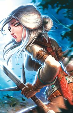 Ciri, The Witcher, Video Games, Fantasy, Artwork, Anime, Fictional Characters, Concept, Videogames
