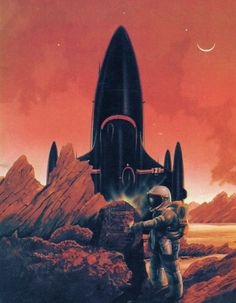 """The 1976 edition of Philip K Dick's """"Dr Futurity,"""" artist unknown"""