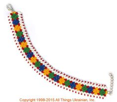 AllThingsUkrainian.com gherdany Bead Jewelry  # GIBN15114