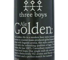Three Boys Golden Ale 500ml Beer in New Zealand - http://www.scottishbeer.co.nz/beer-from-scatland-in-nz/three-boys-golden-ale-500ml-beer-in-new-zealand/ #Scottish #beer #NewZealand