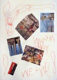 Toddler nature journaling