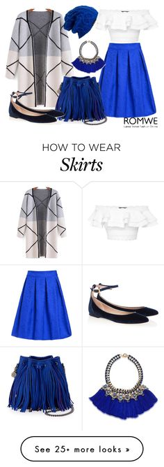 """""""Royal Blue"""" by emilychieng on Polyvore featuring moda, STELLA McCARTNEY, Alexander McQueen, Carolee, Spacecraft ve Chloé"""