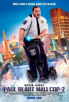 Poster for Film Paul Blart: Mall Cop 2