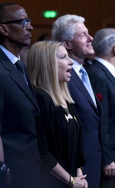 Streisand+Israel | ... streisand singer barbra streisand joins in singing hatikva hope israel