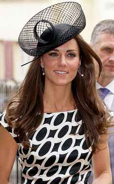 Safety Net from Duchess Catherine's Hats & Fascinators  This feminine fascinator goes above and beyond with a netted veil and (literally) over-the-top layered details.