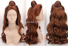 FREE SHIPPING! Inspired by Belle in Beauty And The Beast Synthetic Long Curly Wig FREE SHIPPING!