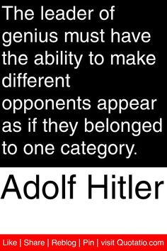 what made hitler a great leader World war 2 question no 10: was hitler a great leader answer hitler possessed many powerful leadership skills that won victories for germany, but he often blundered into making military mistakes.
