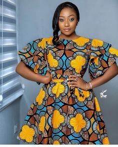 Hello Ladies Check out this collection of Amazing and atunning Top 20 Latest Trending Ankara Styles & Designs 2020 For Ladies To Check Out Short African Dresses, Latest African Fashion Dresses, African Print Dresses, African Print Fashion, African Prints, Ankara Fashion, African Clothes, Africa Fashion, African Attire