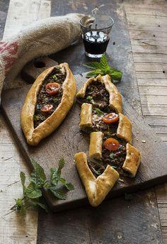 Turkish savory bread