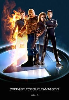 ♥♥♥Fantastic Four -- The superhero world's most famous dysfunctional family turns tragedy into triumph and catastrophe into coalition as they use their unique powers to thwart the iron-fisted nemesis Dr. Doom.