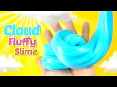 Thanks for loving Monster Kids channel~ I will try my best to make my channel as creative as possible! It's a channel for kids, MonsterKids. Diy Fluffy Slime, Fluffy Slime Recipe, Easy Slime Recipe, Borax Slime, Slime No Glue, How To Make Clouds, How To Make Slime, Homemade Slime, Diy Slime