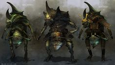 Feng Zhu Design: CHARACTERS / CREATURES