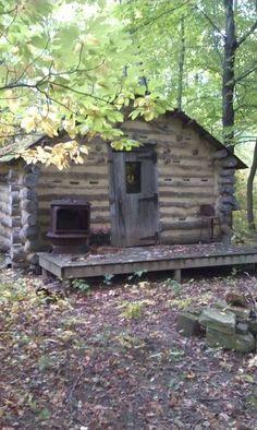 Abandoned Cabin Coloma, Michigan
