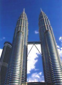 The Petronas Twin Towers of Kuala Lumpur an impressive architecture building
